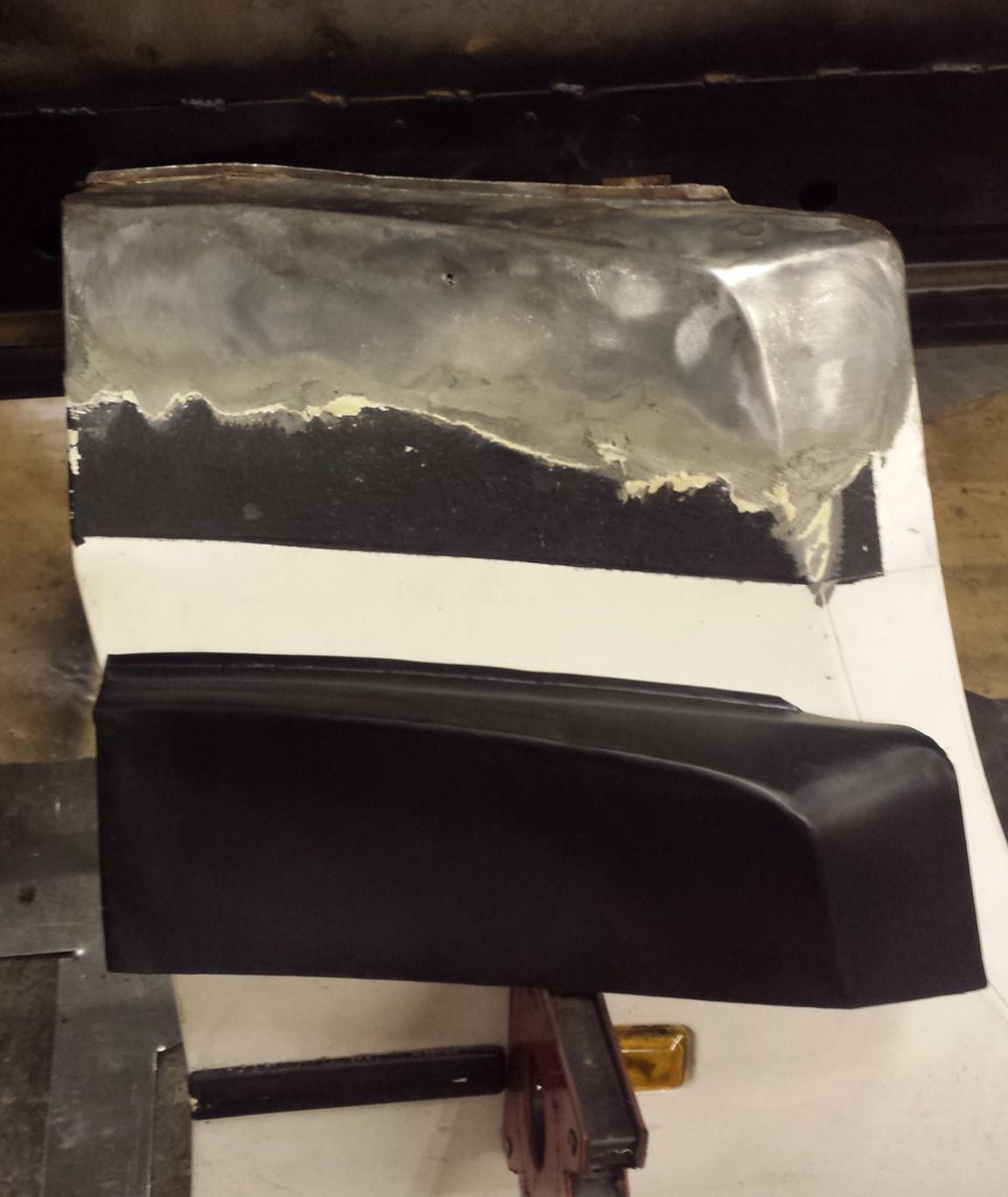 porsche 944 wing repair