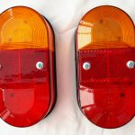 Portafold rear light unit