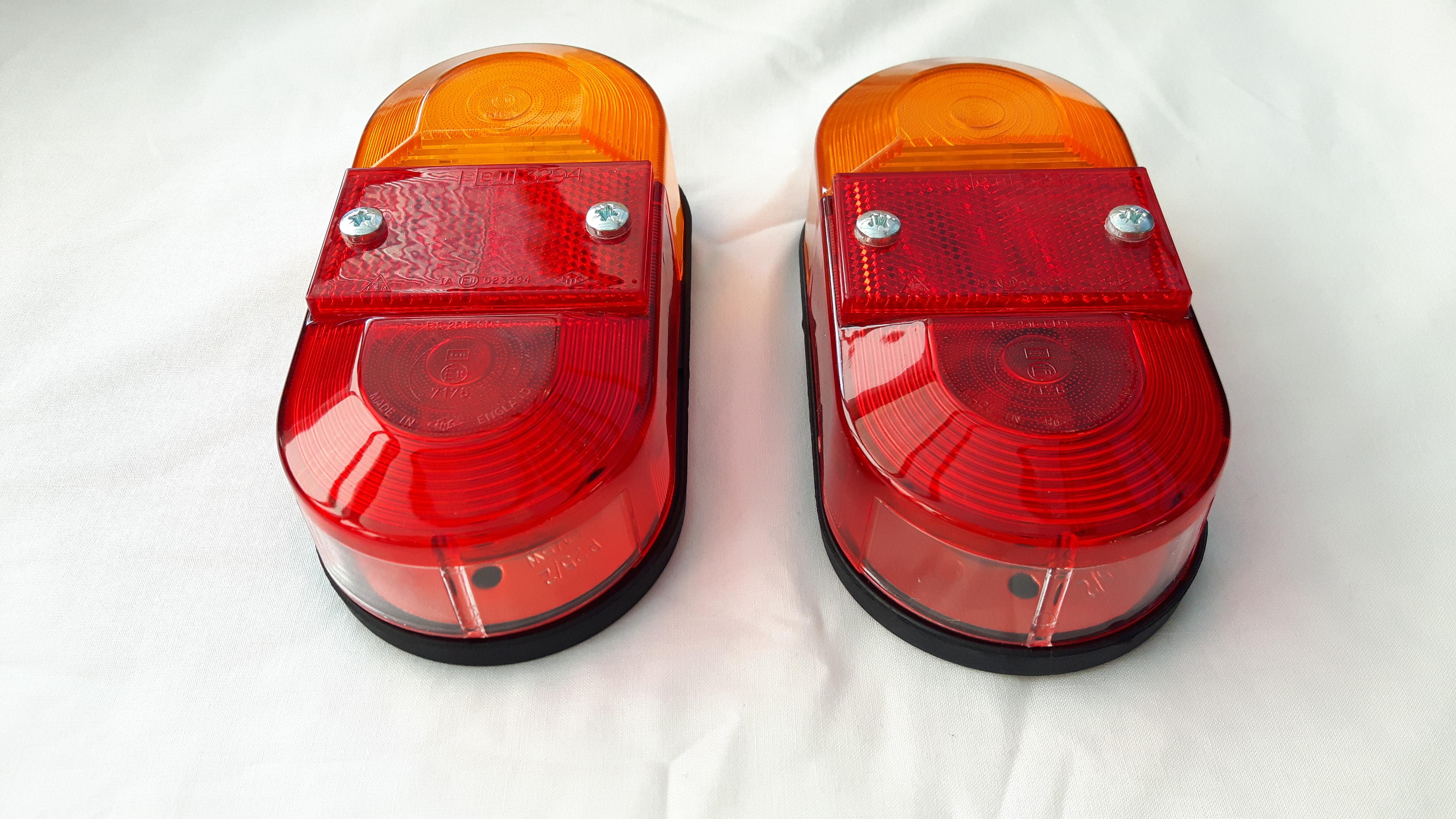 Portafold rear light unit
