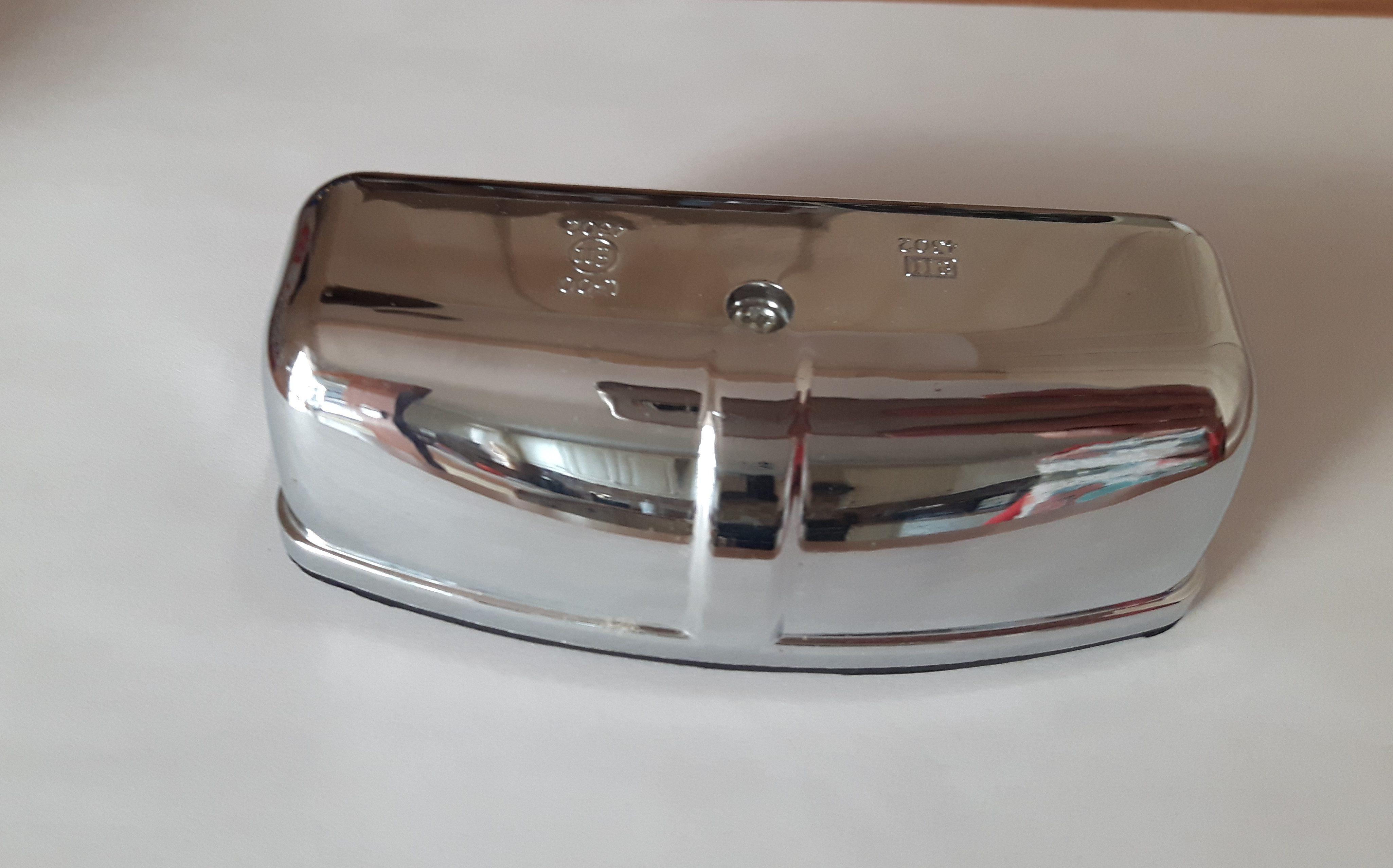 portafold number plate light